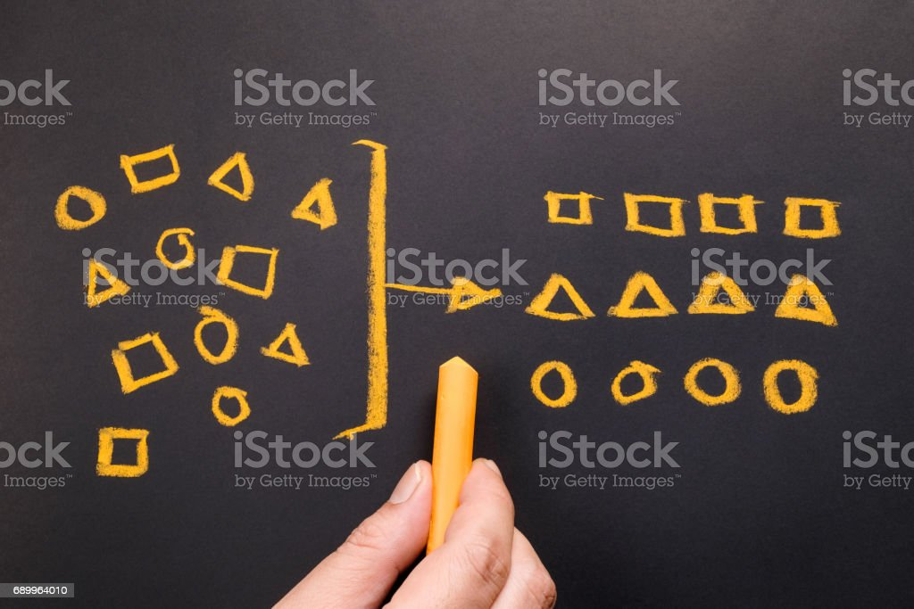 Geometry Category stock photo