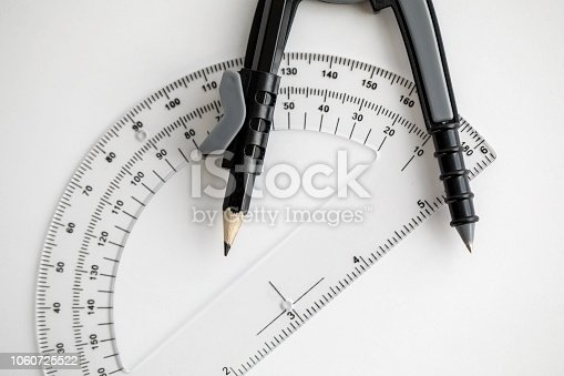 1060723604istockphoto Geometry Compass & Protractor 1060725522
