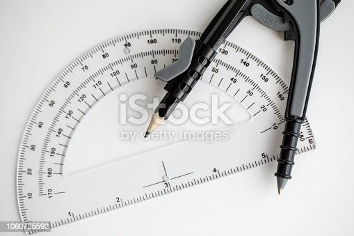 1060723604istockphoto Geometry Compass & Protractor 1060725592