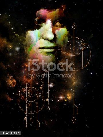 istock Geometry of Dream. 1148663919