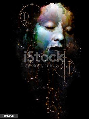 istock Geometry of Zodiac. 1156272111