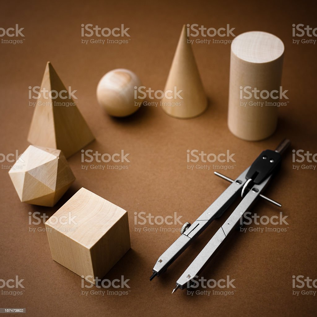Geometry royalty-free stock photo