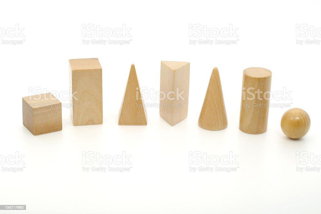Geometry Solids stock photo