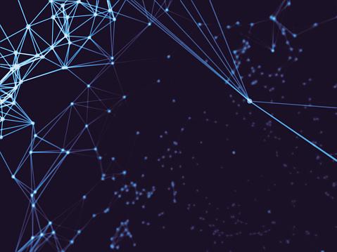 Geometriestunde Oberflächen Linien Und Punkte Hintergrund Als Digitale Hintergrund Stockfoto und mehr Bilder von Abstrakt