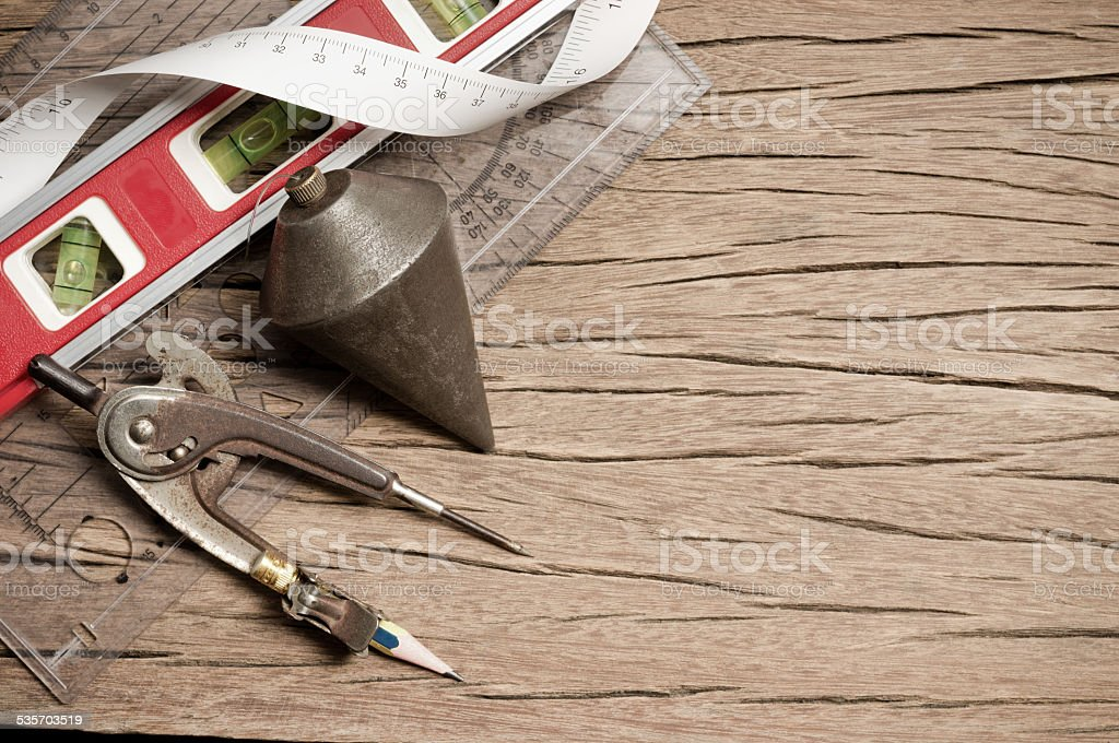 geometry tool stock photo