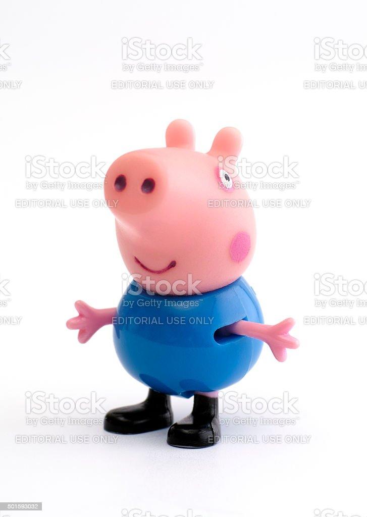 George Pig stock photo