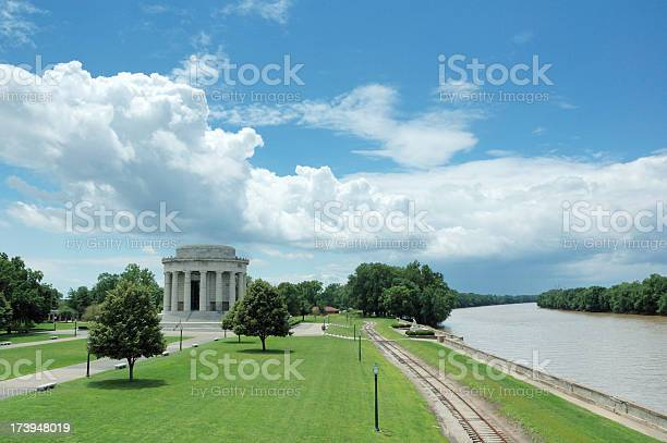 George Rogers Clark National Memorial in Vincennes Indiana