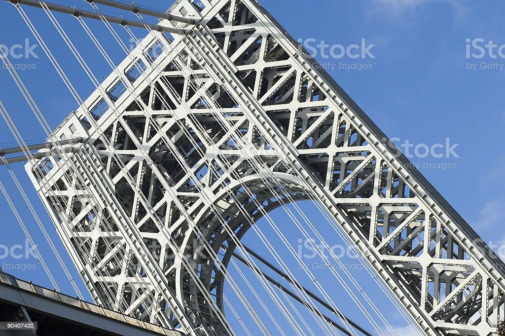 George Washington Bridge a stock photo
