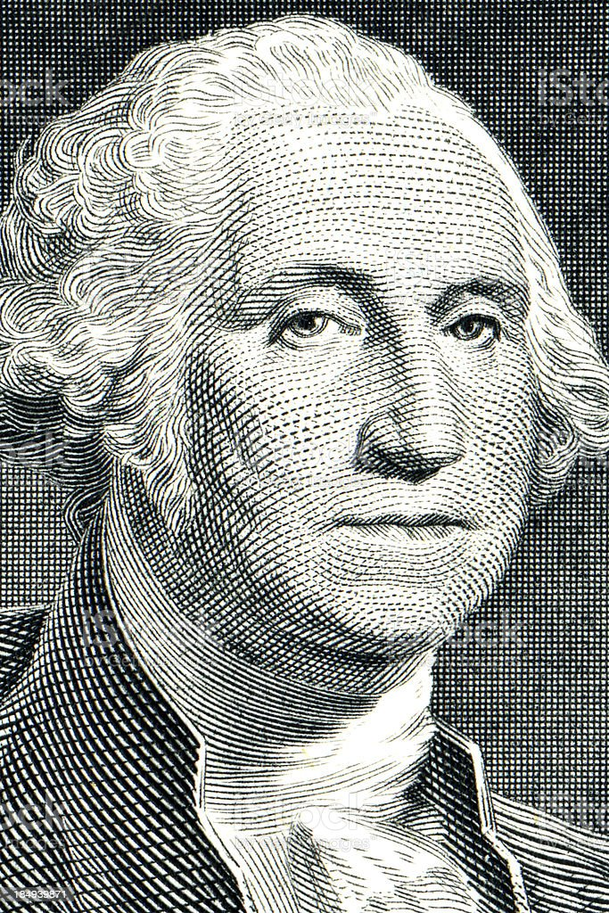 George Washington stock photo