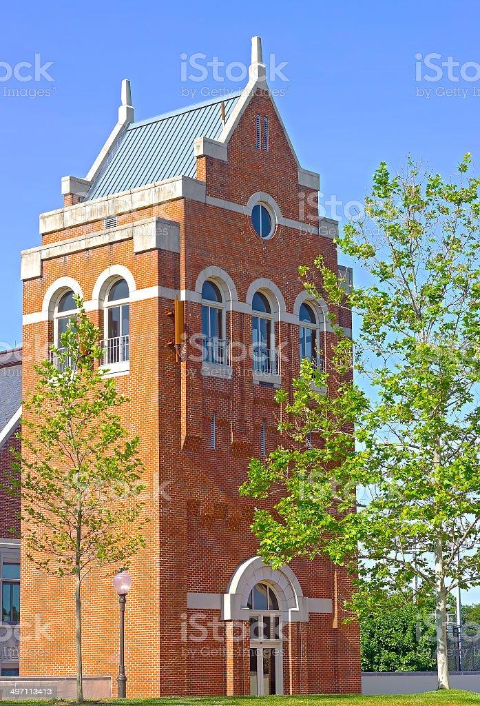 Georgetown University Leavey Center Tower. stock photo