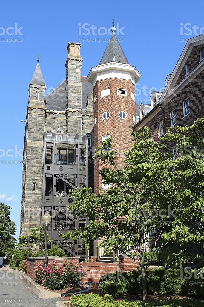 Georgetown University stock photo