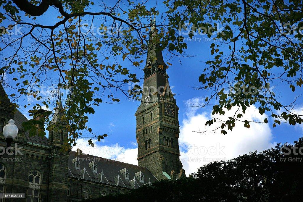 Georgetown University, Washington, DC stock photo