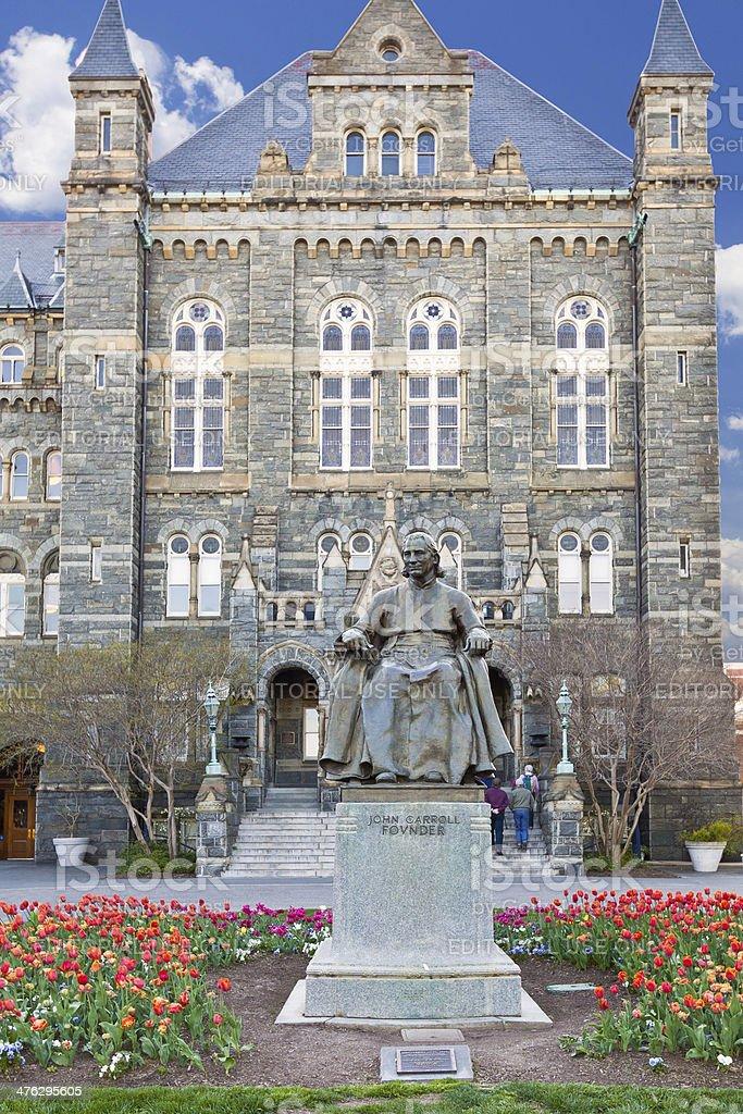 Georgetown University, Washington DC stock photo