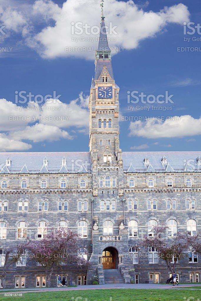 Georgetown University, Washington DC, USA stock photo