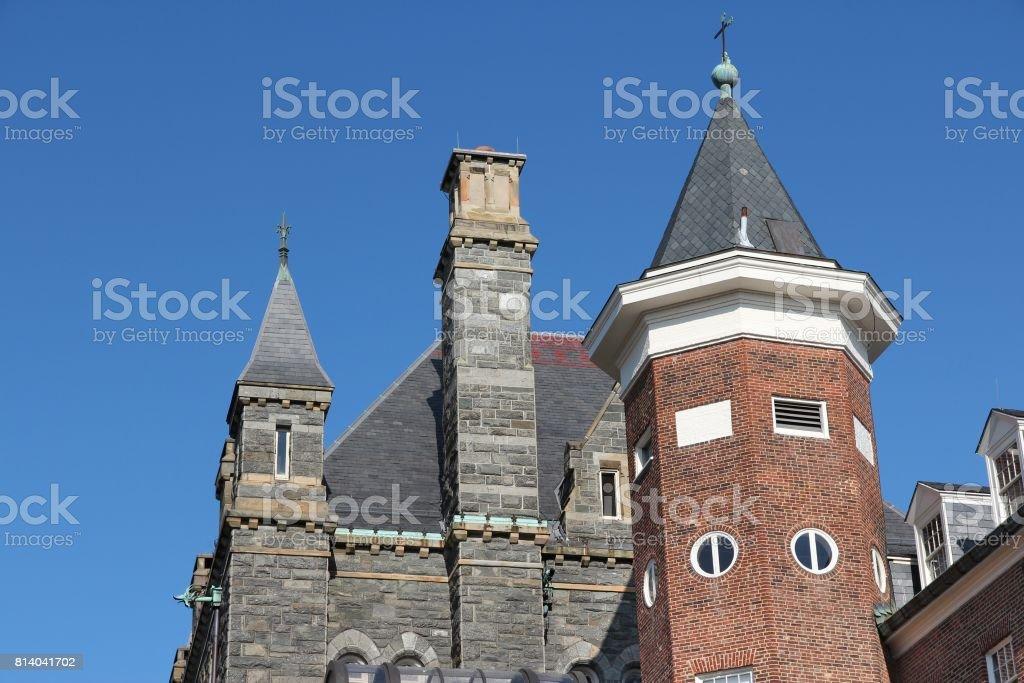 Georgetown University, Washington stock photo