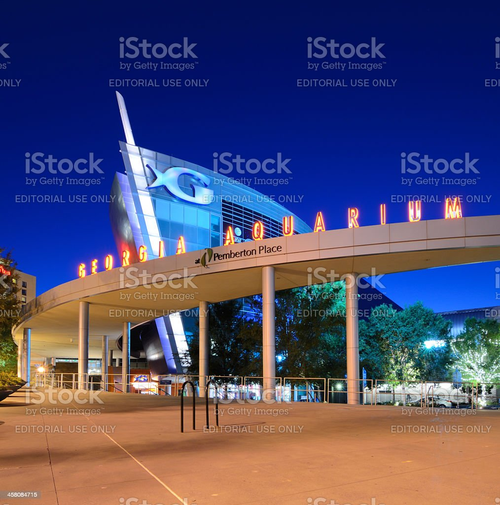 Georgia Aquarium stock photo