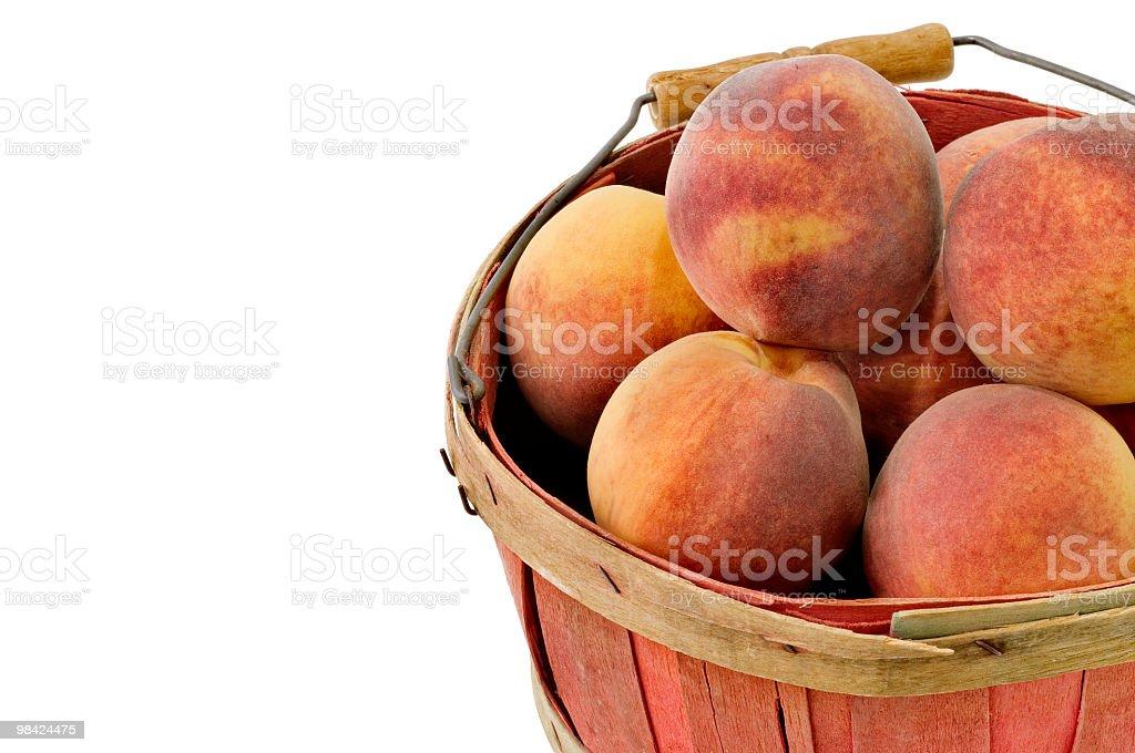 Georgia Peaches royalty-free stock photo