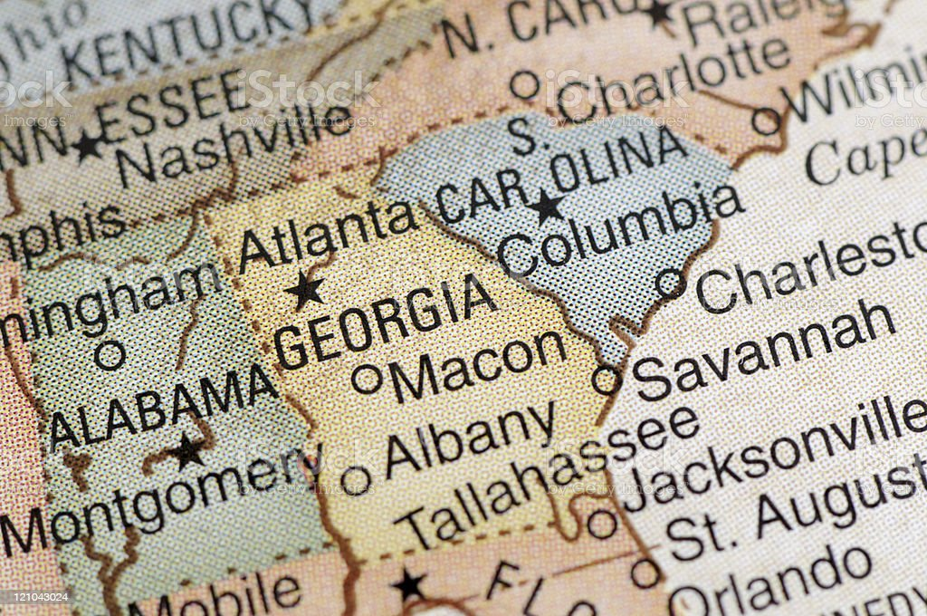 Georgia stock photo