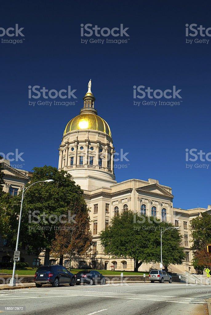 Georgia State Capitol (Vertical) stock photo