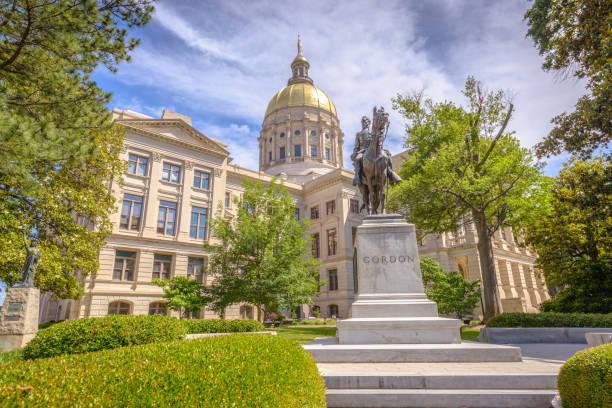 ジョージア州議事堂 - 柱頭 ストックフォトと画像