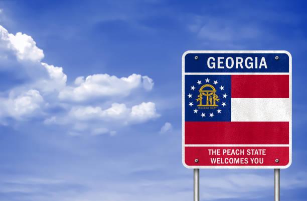 Georgia state stock photo