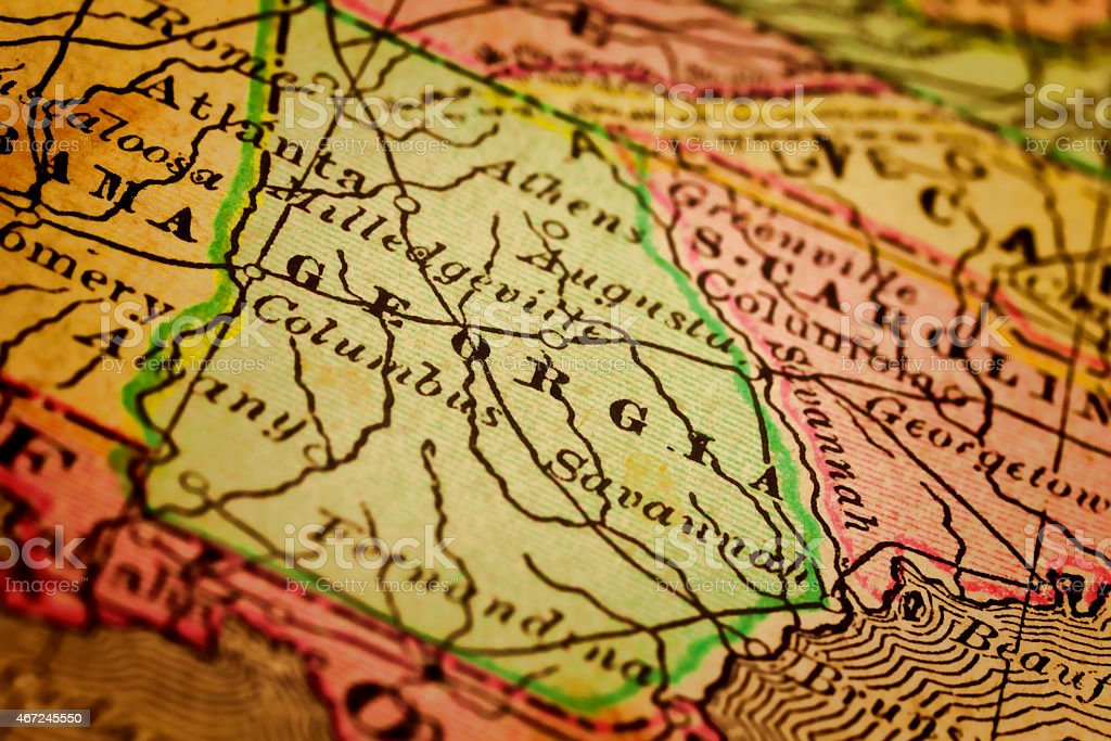 Georgia State, United States stock photo