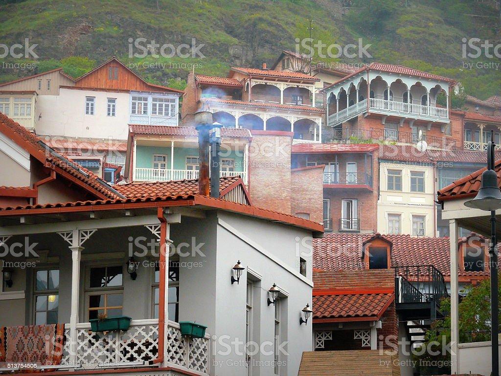 Грузия. Город Тбилиси. стоковое фото