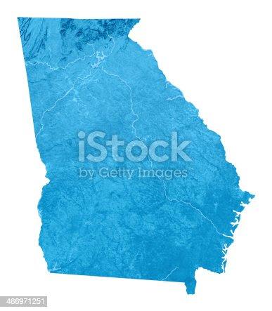 173169385istockphoto Georgia Topographic Map Isolated 466971251