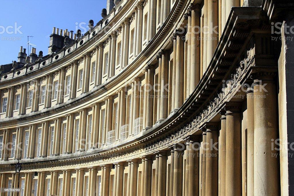 Georgian Architecture royalty-free stock photo