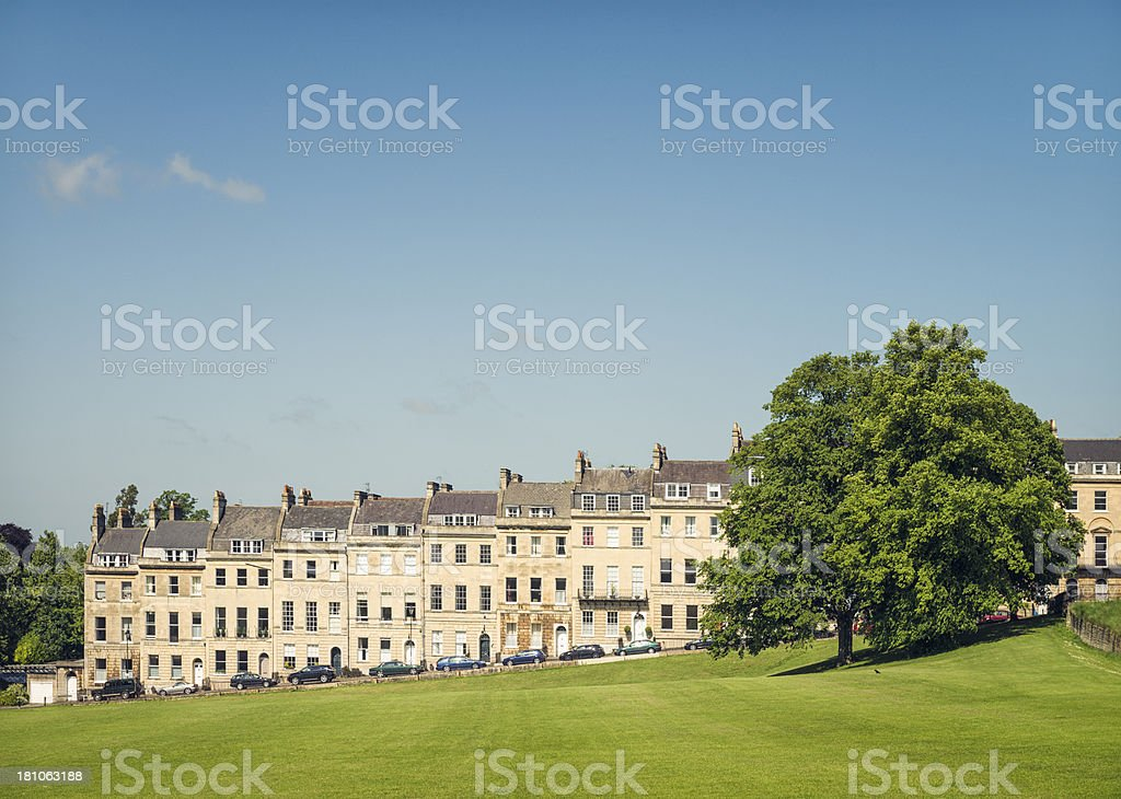Georgian Bath in Somerset, England stock photo