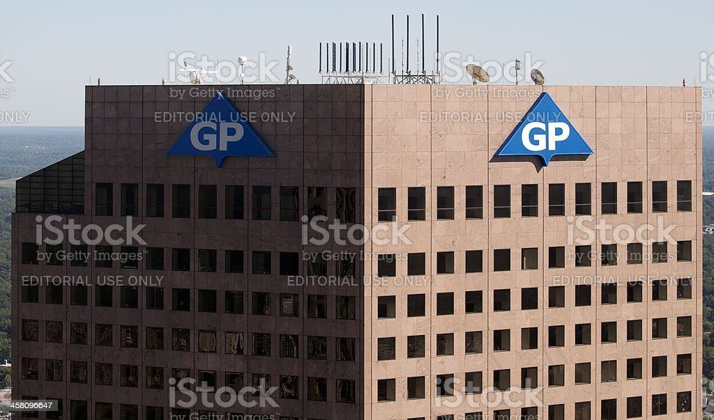 Georgia-Pacific Tower stock photo