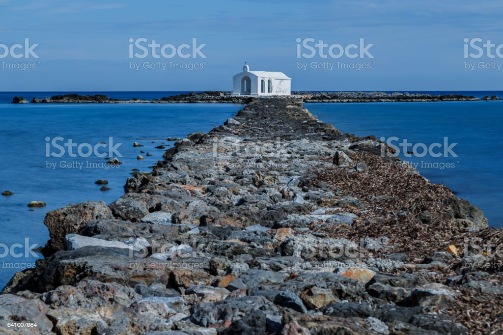 Georgioupoli- Crete stock photo