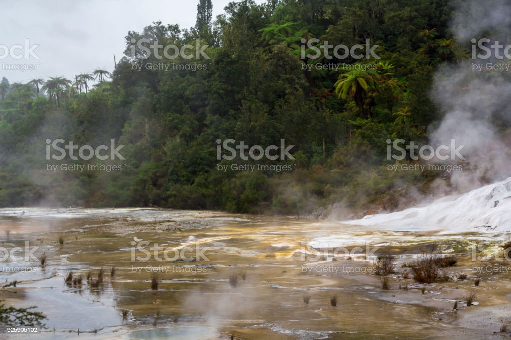 Geothermal Activity stock photo