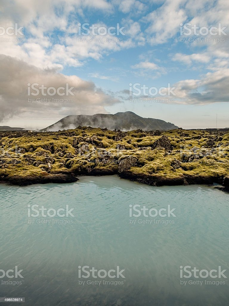 Geothermal Landscape Iceland stock photo
