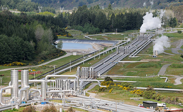 geothermal power (xxxl) - hot spring stock photos and pictures