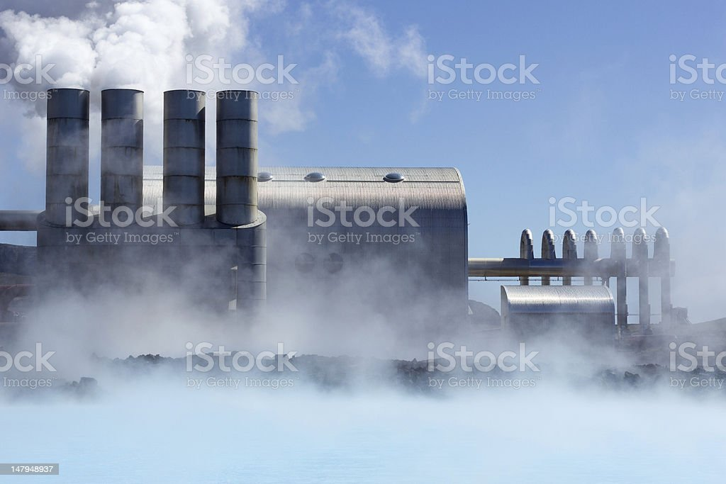 Geothermal Power Plant​​​ foto