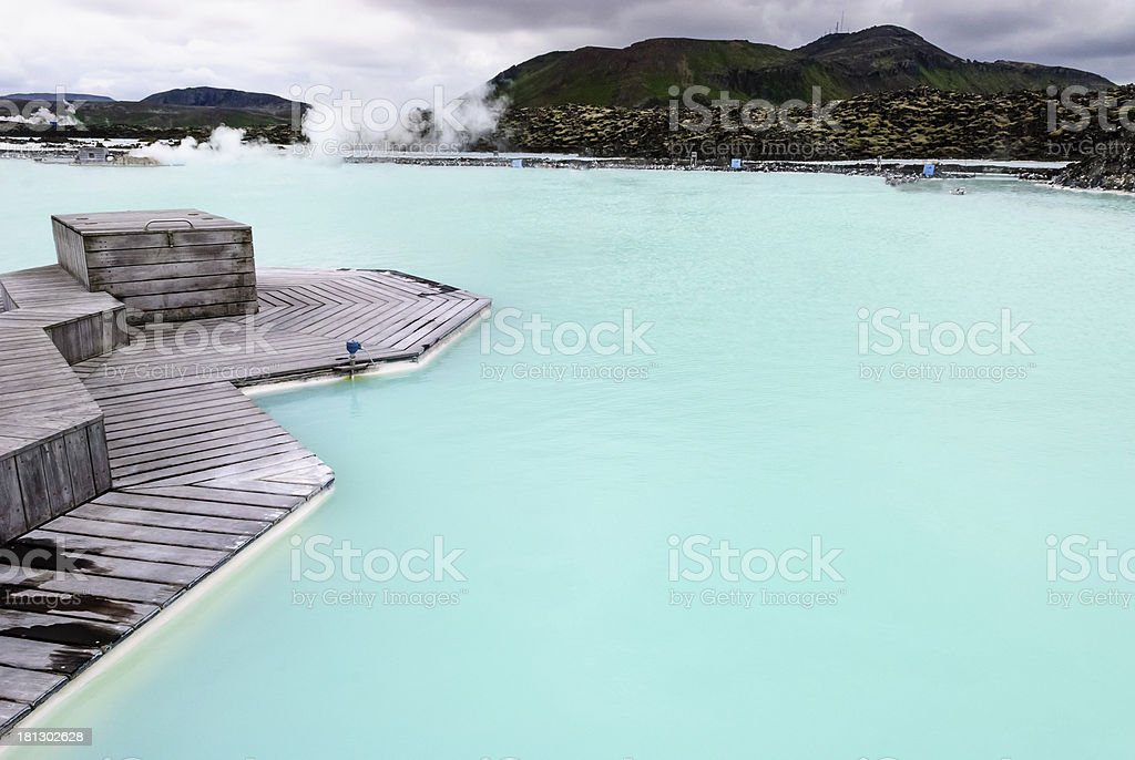 Geothermal Spa stock photo
