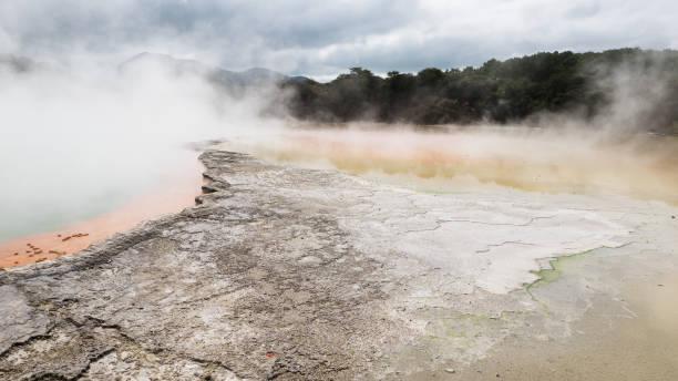 Geothermischen Landschaft – Foto