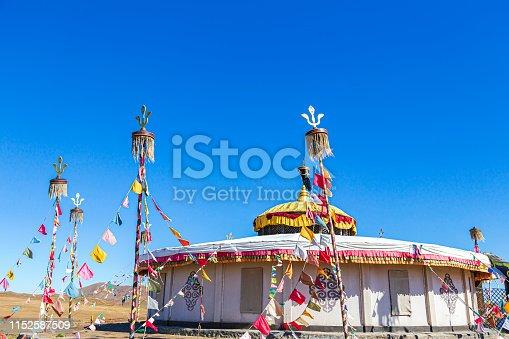 Yurt, Independent Mongolia, House, Asia, Landscape - Scenery
