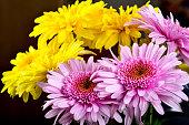 ガーベラの花の花束