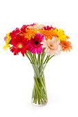 istock Gerberas bunch in a vase 155142552