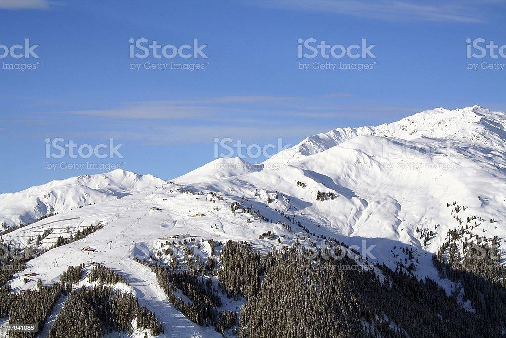 gerlos mountain royalty-free stock photo