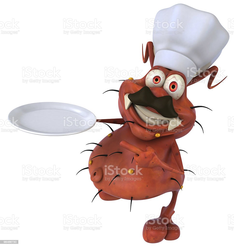 Germe chef foto stock royalty-free