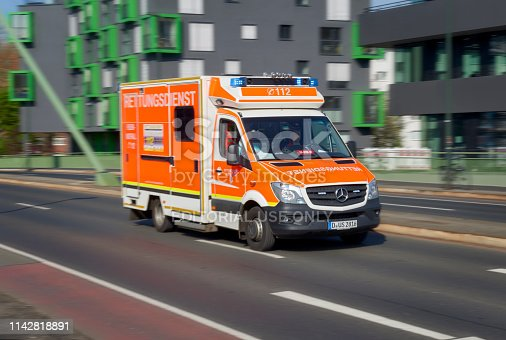 istock German ambulance 1142818891
