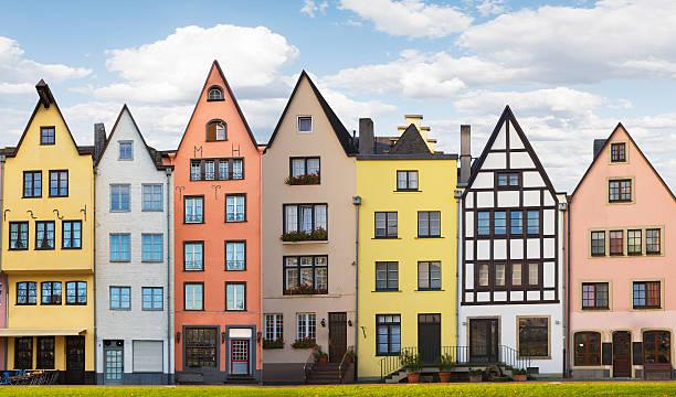 deutsche architektur in köln - köln stock-fotos und bilder