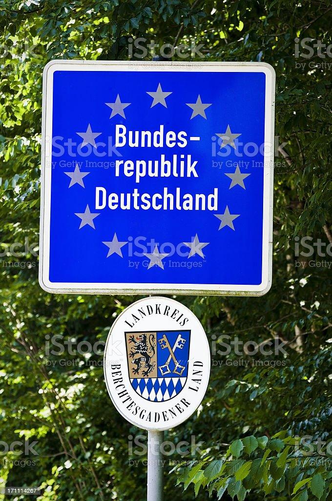Deutschen Grenze – Foto