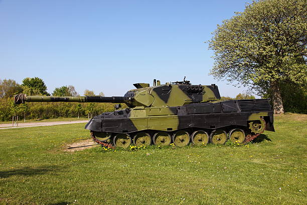 German build Leopard 1 military tank stock photo