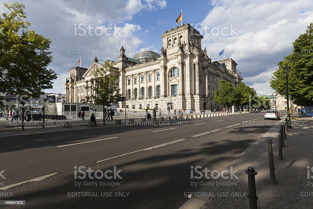 Deutscher Bundestag stock photo
