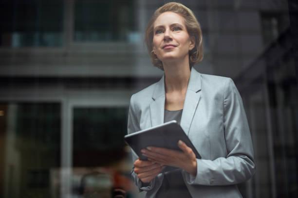 german businesswoman - georgijevic frankfurt stock pictures, royalty-free photos & images