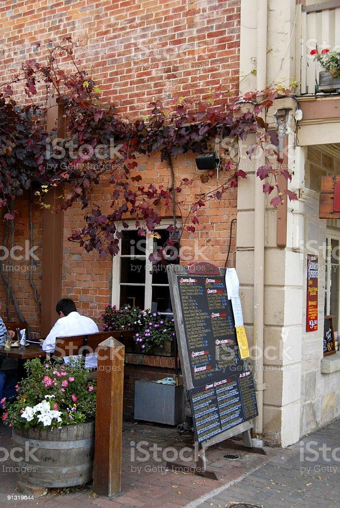 German Cafe royalty-free stock photo